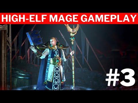 Warhammer Chaosbane Tomb Kings  #3 | High-Elf Mage Gameplay |