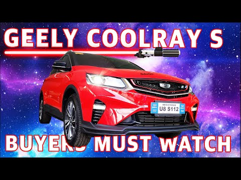 2020 Geely Coolray Sport Turbo Detailed Documentation - [SoJooCars]
