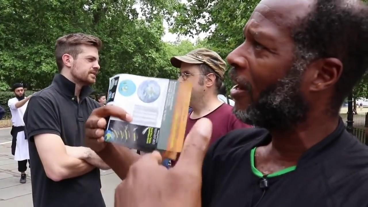 Allegedly Dave: Flat Earth Activism at Speaker's Corner