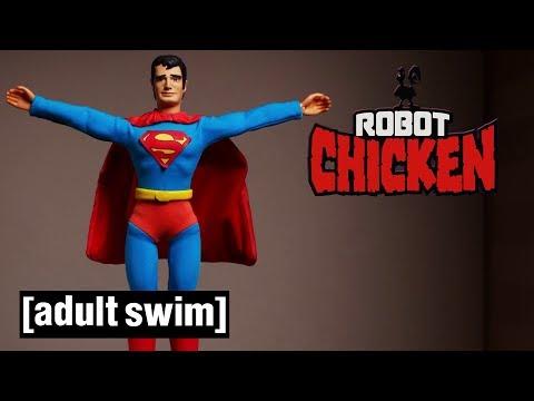 A Justice League Musical | Robot Chicken | Adult Swim