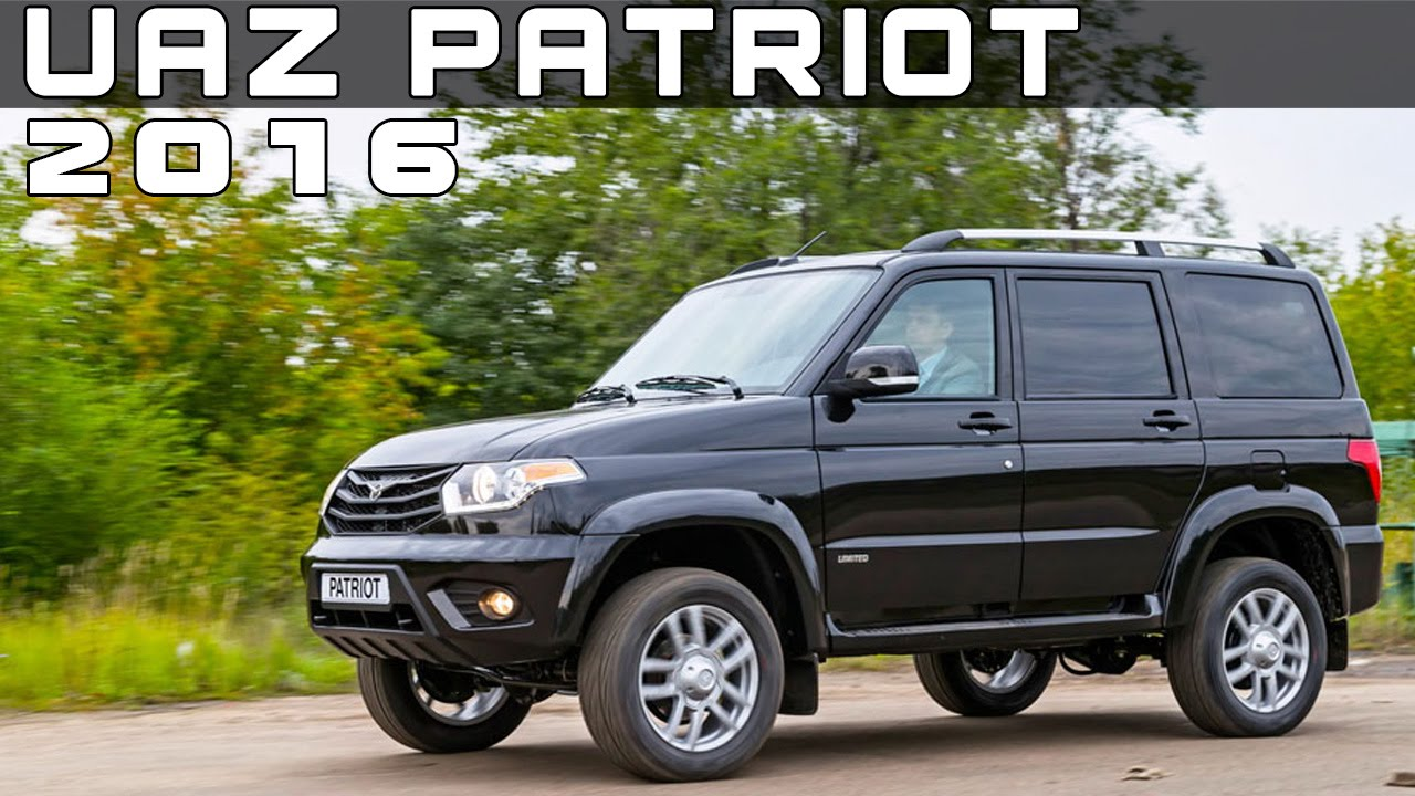 2016 uaz patriot review rendered price specs release date youtube. Black Bedroom Furniture Sets. Home Design Ideas