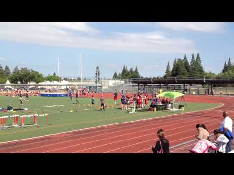 WGMS Track&Field (in red) Boys 4x100m - May 11, 2017
