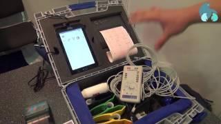 Переносной электрокардиограф
