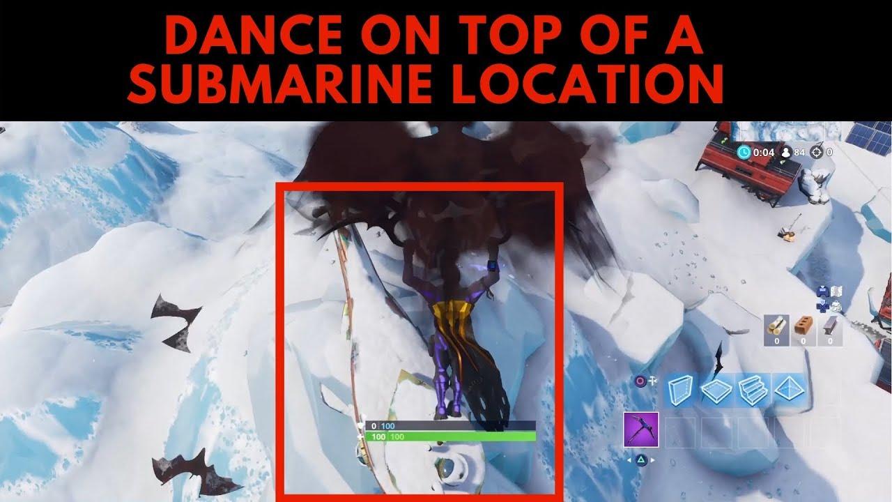 Dance On Top Of A Submarine Location Season 7 Fortnite Battle Royale