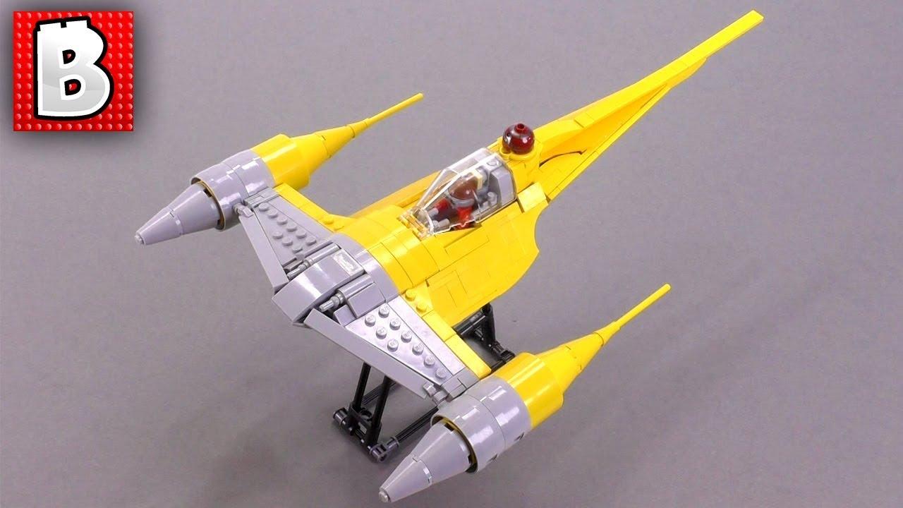 Amazing Lego N 1 Naboo Starfighter Moc Sleek And Beautiful Star Wars Ship