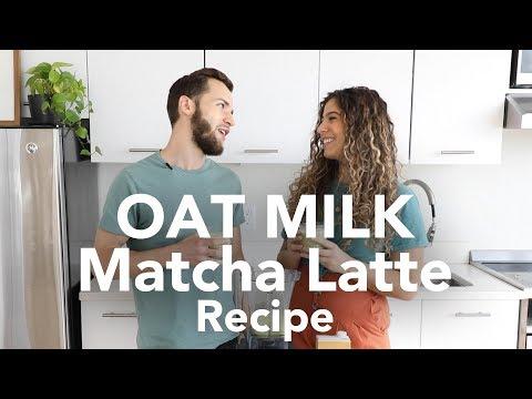The Best OAT MILK MATCHA LATTE Recipe