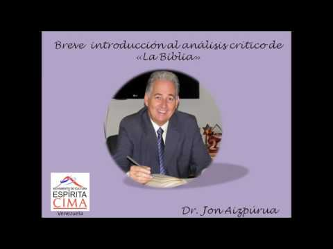 Breve introducción al análisis crítico de La Biblia por Jon Aizpúrua