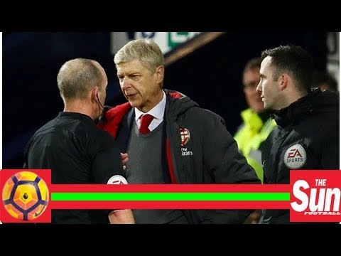 Wenger accused ref of dishonesty after Arsenal v West Brom draw