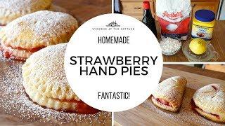 The best STRAWBERRY HAND PIES recipe!