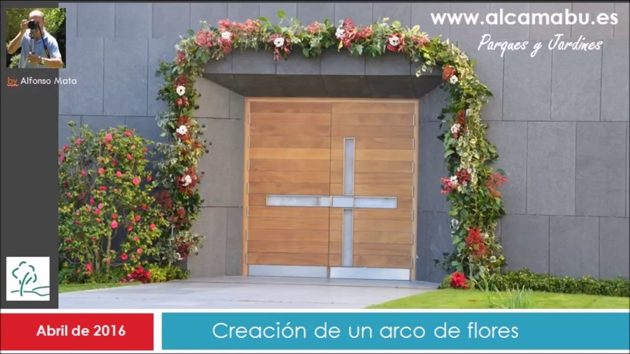 Como Hacer Un Bonito Arco De Hiedra Con Flores Nice Flower Bow