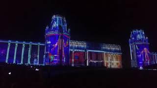 Световое шоу в Царицыно (Москва)