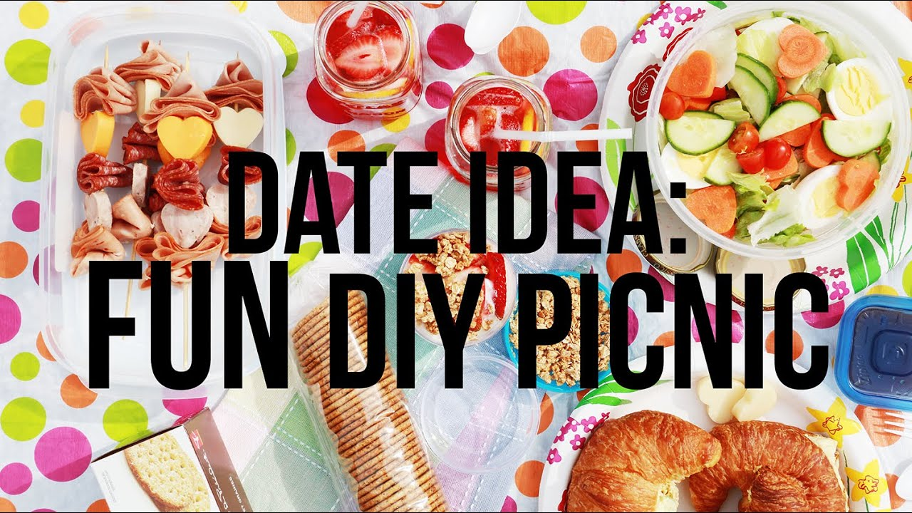 Date idea diy healthy picnic ideas youtube for Picnic food ideas for large groups