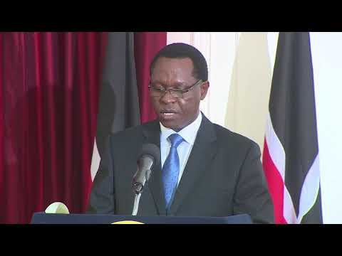 Swearing in of Solicitor General Kennedy Ogeto, makes his mother proud as President Uhuru watches