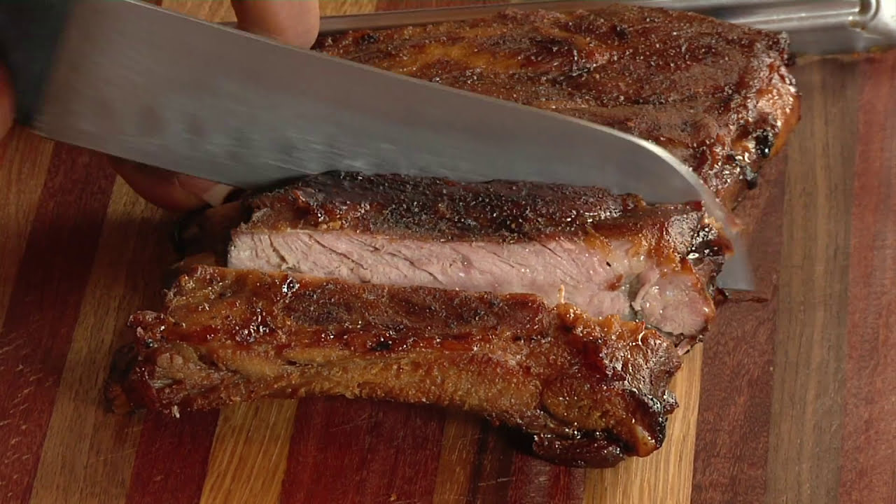 HOW TO MAKE OVEN BAKED ROOT BEER GLAZED BBQ RIBS and GRILLED ST. LOUIS STYLE BBQ RIBS
