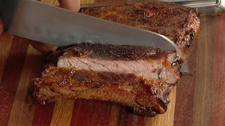 How To Make Oven Baked Root Beer Glazed Bbq Ribs & Grilled St. Louis Style Bbq Ribs