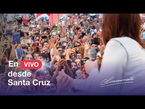 En vivo desde Río Gallegos, Santa Cruz, una nueva presentación de #Sinceramente