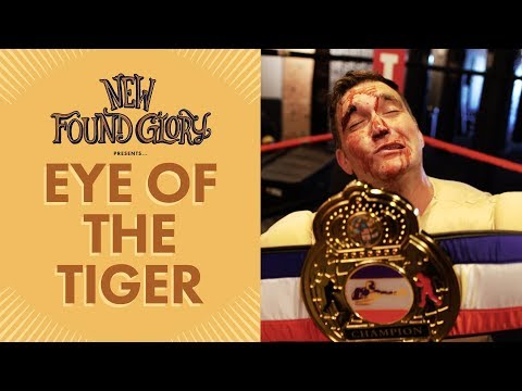 "New Found Glory - ""Eye of The Tiger"" Cover"