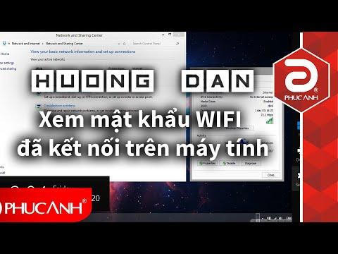 Hướng Dẫn Xem Mật Khẩu Wifi đã Kết Nối Trên Máy Tính