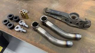 600hp 79 civic build (Ep#4) Lower Control Arms