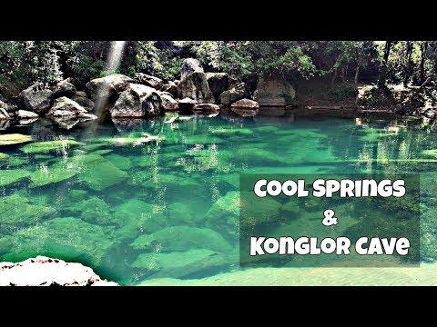 Сool Springs & Konglor Cave | Singapore to Germany motorcycle trip | Laos