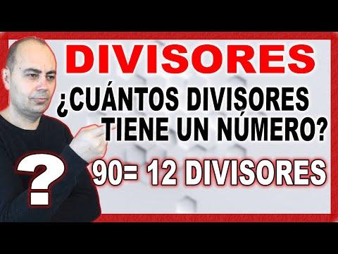 Cu ntos divisores tiene un n mero m todo de john youtube for Cuanto dinero tiene un cajero