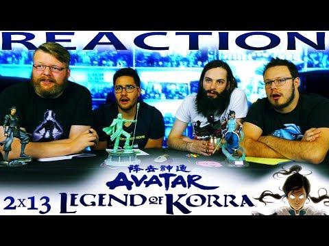 "Legend of Korra 2x13 REACTION!! ""Darkness Falls"""