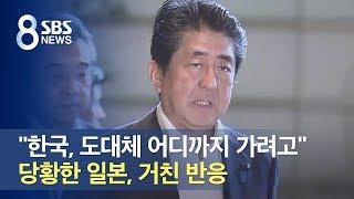 """""""한국, 도대체 어디까지 가려고…"""" 당황한 일본, 거친 반응 / SBS"""