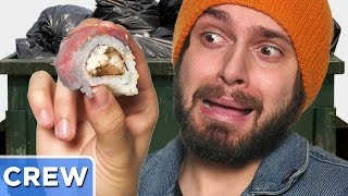 Eating Dumpster Sushi