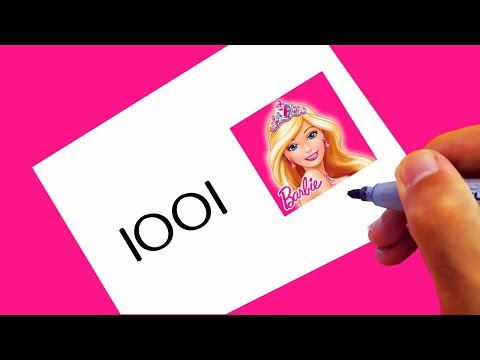 very-easy-!-how-to-turn-numbers-1001-into-barbie-for-beginners