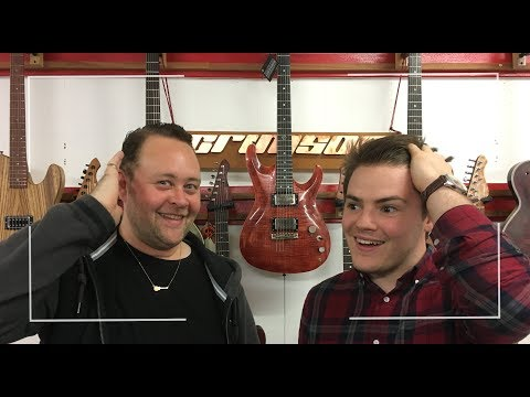 Crimson Guitars - Factory Tour