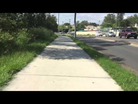 Cycle Commute Brisbane Veloway across Marshall Road toward Nathan Campus