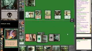 Pauper Songs of the Damned vs Elves