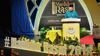 Problems of Muslim ummah due to leaders with no integrity - Sultan Nazrin's Maulidur Rasul speech