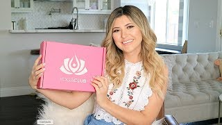 YogaClub UNBOXING, Try On, & Review - Fitness Subscription