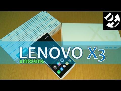 UNBOXING - Lenovo Vibe X3 Snapdragon 808 hexa core 3g ram 32gb 5.5