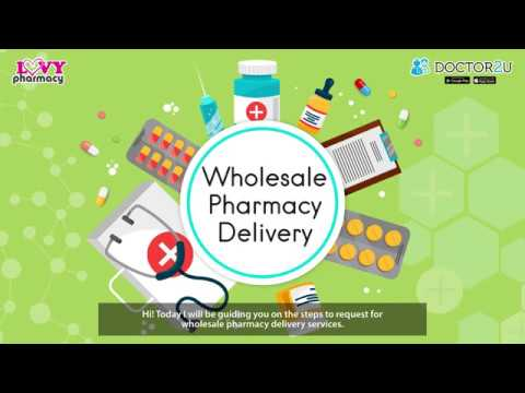 Doctor2U - Wholesale Pharmacy Delivery Tutorial Video