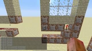 4 3x3 doors using commandblocks Thumbnail