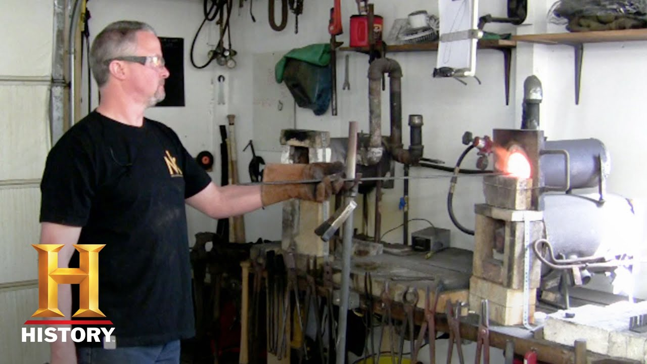 Forged in Fire: Bonus: All About J  Neilson (Season 3, Episode 5) | History