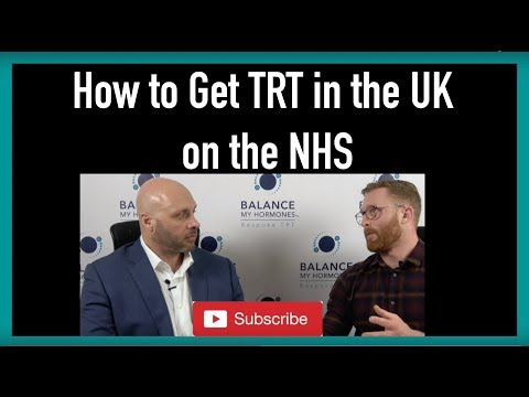 How to Get TRT in the UK on the  NHS