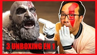 GOD OF WAR 4 - Notre UNBOXING de la statuette Collector de Kratos !