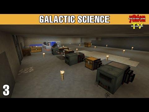 Galactic Science E03 - Sản Xuất Khoáng Sản