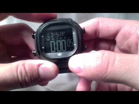 6991b3df4374c Adidas Seoul Watch Review   How to Operate an Adidas Watch - YouTube