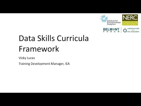 Data Management Training Webinar
