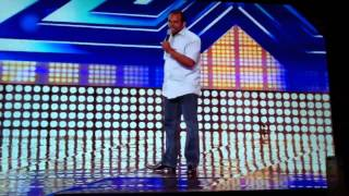 1 pound fish man X Factor Audition in HD