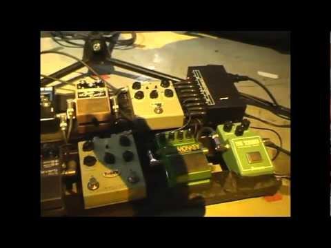Gary Moore pedalboard 2010