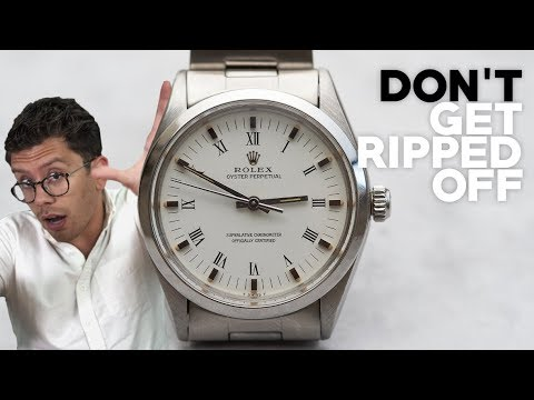 How To Buy Vintage & Pre-Owned Watches | Questions To Ask The Seller