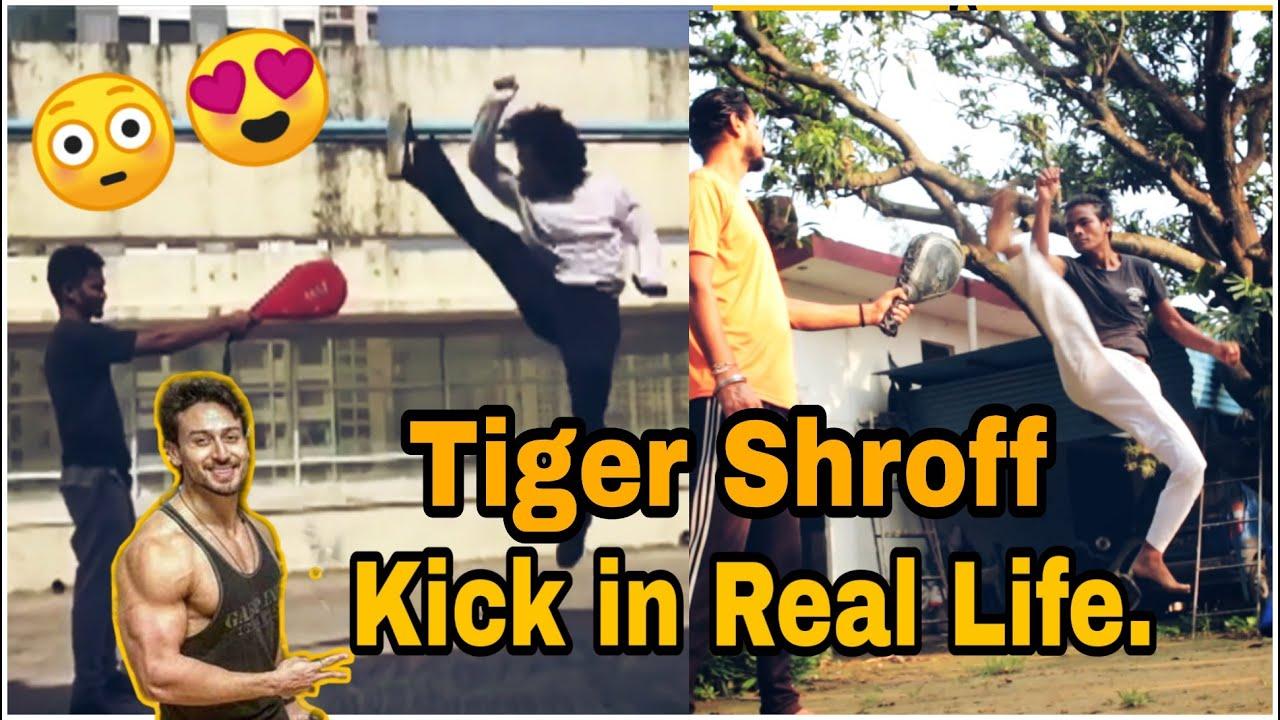 Download Tiger SHROFF KICK IN REAL LIFE//SahilGurung