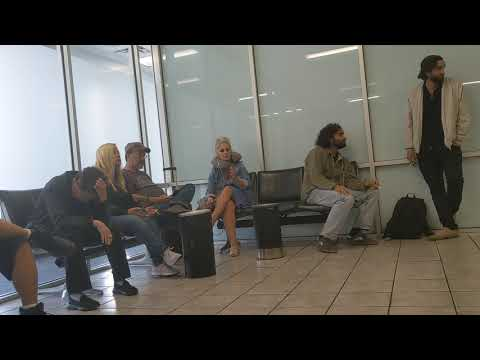 33 Seconds Inside The Smoking Lounge At Dulles International Airport