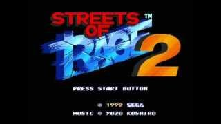 Streets Of Rage 2 - Spin On The Bridge