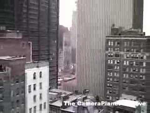 Shots from rooftop of ground zero, workers, wreckage,...